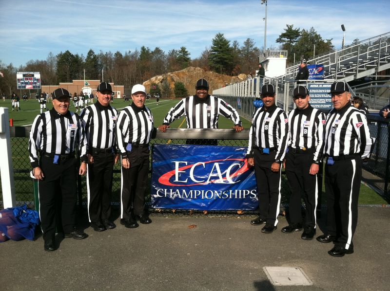 ECAC North Atlantic Bowl - Mount Ida (22) at Endicott (31) - Tim Kenny, Craig Smail, Barry Fowler, Mike Rattley, Richard Graham, Ryan Peterson, Ron Castrovinci