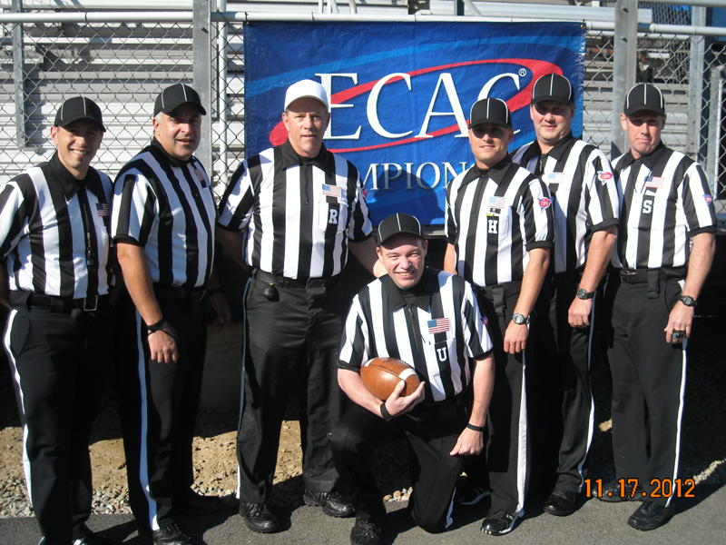 ECAC Southwest Bowl - Carnegie Melon (24) at Waynesburg (28) - Anthony Inzero, David Cascio, Barry Fowler, Mike Pearrow, Anthony Calabrese, Scott McNerney, Matt Williams