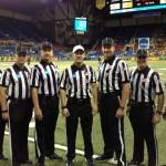 NCAA FCS Quarterfinals - Coastal Carolina (14) at North Dakota State (48) - Tim Gover, Jerry Evans, Chris Smith, Michael Roche, George Botsch, Jim Slayton, Terry Brown