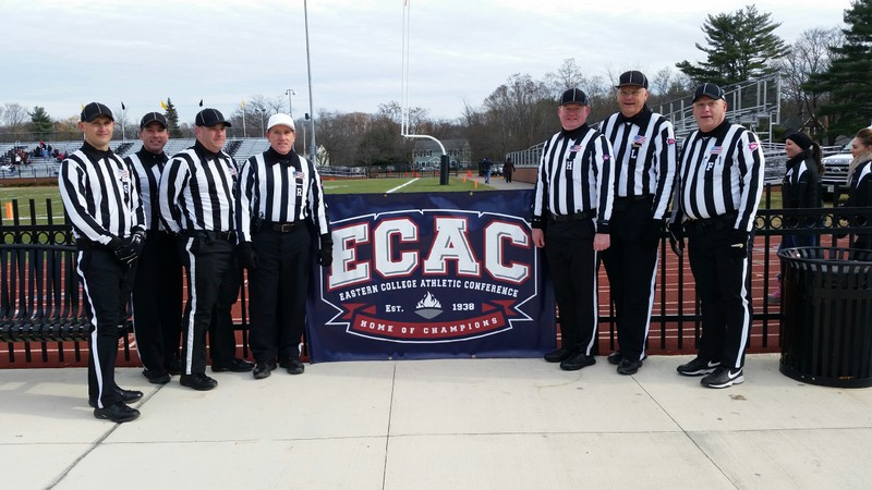 ECAC North Atlantic Bowl - RPI (36) at Framingham State (42) - Tyler Perry, John Scherban, Rob Cibotti, Ron Patry, Mark Achorn, Tom Zaylor, and Rick Bogert
