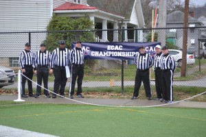 ECAC Southwest Bowl - Buffalo State (59) at Waynesburg (36) - Dan Boyle, Steve Westrick, Barry Crable, Gerald Frye, Jim Bulger, Rick Martin, Eric Brewer