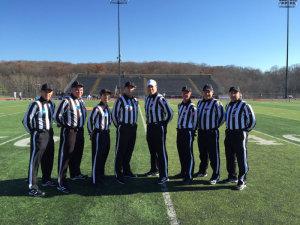 NCAA D2 First Round - Slippery Rock (20) at West Chester (46) - Scott Kraynak, Mike Pearow, Ctaig Teitlebaum, Sean Meigs, Brandon Hoover, David Milvae, Todd Moss, and Jim Schmale
