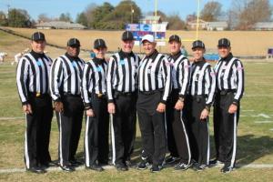 NCAA D2 1st Round - LIU-Post (17) at Virginia St (28) - Mark Estermyer, Darrell Bowens, Zack Cataldi, Eric Akins, Brad Rauder, Mark Emmerling, Marshall Gross, and Tony LaScola