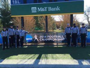 NCAA D3 1st Round - Hampden Sydney (7) at Wesley (52) - Keith Salkowski, Chris McNally, Rob Friedman, Brian Semeriglia, Brian McGrath, Dwayne Marcus, Mike Peel