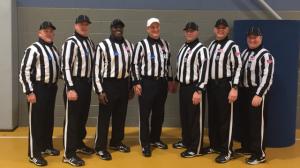 NCAA FCS Second Round - Liberty (22) at Villanova (29) - Dan Carr, Bob Hefferon, Hilbert Byers, Mike Davis, Frank Usseglio, Bill Schoen, Andy White