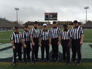 NCAA FCS Second Round - Indiana St (14) at Chattanooga (35) - George O'Brien Tom Meehan, Ed Keiffer, Charles Jebran, Chris Smith, Russell Wyatt, and John Wilson