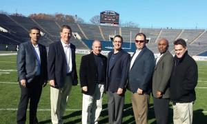 2015 Harvard (38) at Yale (19) - Gary Corvelo, Chris Smith, George O'Brien, Charles Jebran, Bryan Gross, Mel Plummer, Jr, John Bradbury
