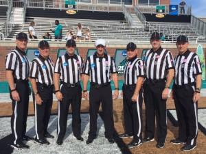 NCAA FCS First Round - The Citadel (41) at Coastal Carolina (38) - Ed Keiffer, Ray Renart, Greg Mota, Matt Overton, Al Lucia, Steve Toal, Chris Smith