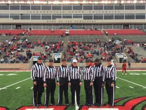 NCAA FCS Second Round - Youngstown St (40) at Jacksonville St (24) - Randy Ross, NJ Cogliati, Bob Shober, Henry Wimberg, Kyle Brownell, Milt Hagans, Jerry Evans