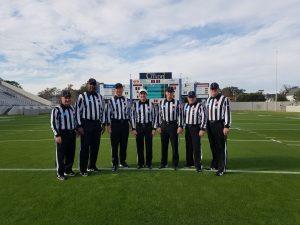 NCAA FCS Second Round - Wofford (17) at The Citadel (3) - George O'Brien, William Thomas, Chris Smith, Charles Jebran, Greg Mota, John Bradbury, John Wilson
