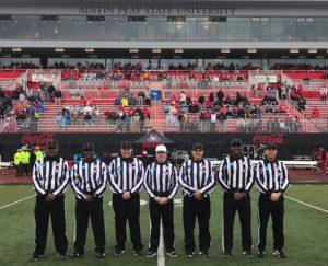 2019 NCAA D1 (FCS) 1st Round - Furman (6) at Austin-Peay (42) - Michael Collins, Darryl Lee, Rob Miller, Jeremy DeAngulo, Tim Linnartz, Patrick Langford, Joseph Jung