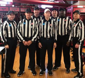 2019 NCAA D1 (FCS) 1st Round - Illinois St (24) at SE Missouri St (6) - Matt Smyth, Steve Wood, Christian Keel, Jeff Pumphrey, Will Jeffries, Tom O'Mara, Replay not pictured: Herb Stayton