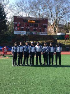 2019 NCAA D2 1st Round - Tiffin (31) at Kutztown (33) - Mike Moran, Al Bartolini, TJ Hendrickson, Matt Thibeault, Matt Williams, Jon Zenquis, Adam Scott, Ryan Peterson