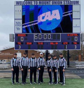2019 NCAA D3 2nd Round - N. Central IL (59) at Mount Union (52) - Robert Guyton, Mickey Record, Paul Knapp, David Hergert, Dan Messina, Michael Fogarty, Luke Nadzadi