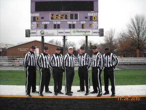 NCAA D3 Second Round - Albright (7) at Mount Union (66) - Craig Carew, Rob Cibotti, Anthony Inzero, Barry Fowler, Steve Verbridge, Tyler Perry, Derrick Murphy