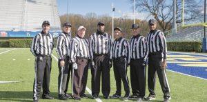 ECAC James Lynah Bowl, Stevenson University vs. Alfred State University Stephen Williams (S), Sean Butler (H), Mark Mesnick (R), Horance Stanback (U), Don Charney (L), Martin Peters (F), Mychael Gaines (B).