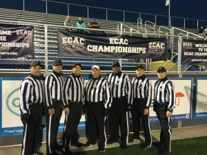 """ECAC Scotty M. """"Scotty"""" Whitelaw Bowl - Alfred (11) Vs Fitchburg St (10) - Anthony Falce, Mark Achorn, Mike Brown, Mark Mesnick, Rudolph, Frank Guerrero, Matt Maille"""