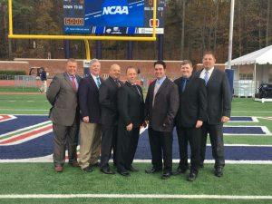 "NCAA FCS First Round - N Carolina A&T (10) at Richmond (39) - Rob Miller, Dave Coughlin, Jesus ""Nick"" Gonzalez, Carl R. Vaccaro, Joe Villella, Mike Peel, Tim Kusniez"