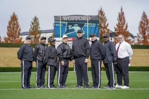 NCAA D1 FCS First Round Elon (7) at Wofford (19) - Mike Nolan, Ricardo Green, Sabrina Isom, Carl Vaccaro, Tim Kusniez, David Coughlin, Darryl Lee, Wayne Freed
