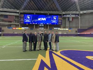 NCAA D1 FCS First Round Lamar (13) at UNI (16) - Kevin Edwards, Darin Patrick, Jerry Evans, Todd Boyd, Jarrod Johnson, Peter Buchanan, Todd Romach, Gary Corvelo