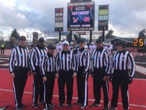 NCAA D1 FCS Second Round Nicholls St (21) at Eastern Wash (42) - Chris Smith, Sam Mattaway, Tim Gallagher, Tony Marcella, Tom O'Mara, Lorenzo Evans, Corey Landry