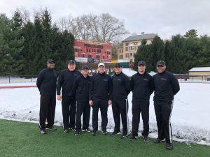 NCAA D2 First Round Hillsdale (40) at Kutztown (26) - Kevin Moss, David Gustafson, Ben Truskowski, Mike Moran, TJ Hendrickson, Kurt Sinclair, Martine Jones, (Alternate not pictured Chris Liedl)