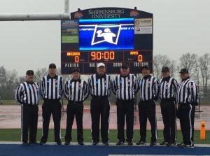 NCAA D2 First Round - West Chester (27) at Shippensburg (6) - Robert Cancro, Joe Kreig, Jim Miller, Steve Keller, Ken Broome, James Palermo, Dan Boyle, Kyle Peterson