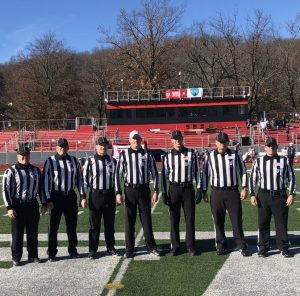 New England Bowl 2019 - West Conn (6) at WPI (35) - Keith Brockway, Ed Dubish, Josh Rusack, Alex Parrella, Greg Hanolan, Steve LaBounty, Darryl Miedico