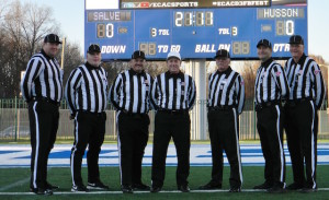 ECAC Clayton Chappman Bowl - Husson (39) vs Salve Regina (42) -Gary Hobel, Rick Bogert, Al Corvelo, Ron Patry, Steve Veradi, Bill Graham, Tom Zayler