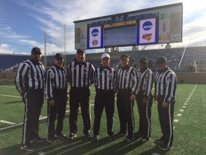 NCAA FCS Second Round - Northern Iowa (22) at South Dakota St (37) - Sam Mattaway, Bob Bittner, Keith Vaverchak, Jeff Gray, Jim Brennan, Mel Plummer, John Bradbury,