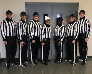 Centennial-MAC Bowl - Susquehanna (28) at Albright (9) - Michael McGoldrick, Anthony Dziak, Bruce Sommons, Lee Page, Sabrina Isom, Keith Fell, Jim Pidcoe