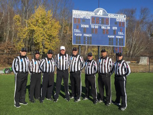NCAA D2 ist Round - Bowie St (29) at Assumption (51) - Sean Meigs, Tony Ganzak, Bart DalDosso, Dave Blair, Andy Muha, Jim Bulger, Ralph Livsey, Alt - Christian Rodriguez