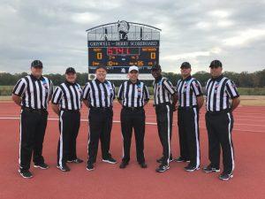 NCAA D3 - Huntingdon (20) at Berry (34) - Matt Schule, Ron Reidinger, Matthew Murphy, Michael Quinn, Curtis Townsend, Michael Kennedy, Jason Pozarowski